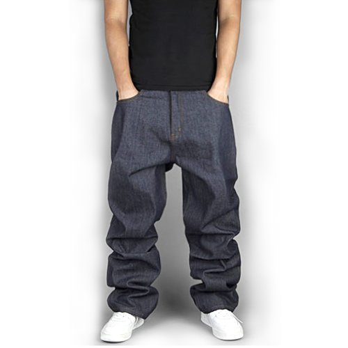 zero quality men s hip hop indigo washed baggy jeans best street style. Black Bedroom Furniture Sets. Home Design Ideas