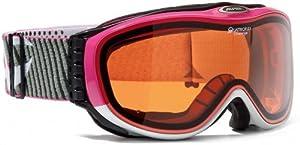 ALPINA Erwachsene Skibrille Challenge 2.0, White/Rose, One Size, A7092012