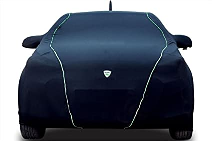 TPH-NOVA-BLACK-Indoor-Car-Cover-with-Green-Piping-for-MINI-Countryman
