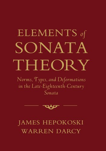 Elements of Sonata Theory: Norms, Types, and Deformations...