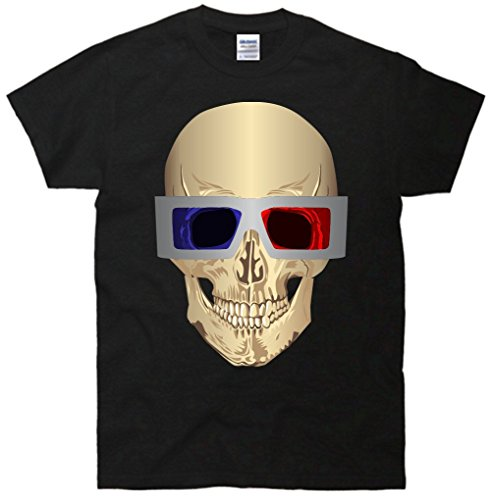 Skull 3D Glasses T-Shirt