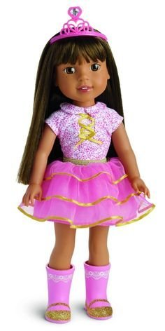 2016 Hot Toy List: Rated Kid-Tested and Parent-Approved (Parents Magazine / Amazon) American Girl - Wellie Wishers Ashlyn Doll by Wellie Wishers
