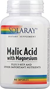 Solaray - Malic Acid With Magnesium, 90 capsules