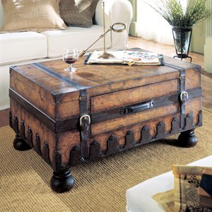"""Trunk Table (Brown) (18""""H x 36""""W x 24""""D)"""