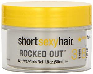 Sexy Hair by Sexy Hair Short Sexy Rocked Out Pliable Molding Clay for Unisex, 1.8 Ounce