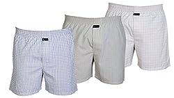Careus Men's Cotton Boxers (Pack of 3)(14_16_17_Multi-coloured_Large)