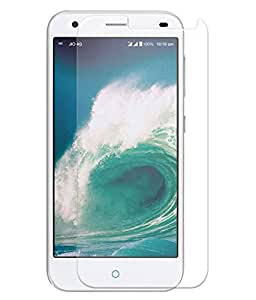 Lyf Water 5 Compatible Tempered Glass Screen Protector (Antishock, Curved Edged) (Pack of 2, Only Front Transparent Screen Protector) (Combo Offer, get a VJOY 7800 mAh Power-Bank CYAN) (1 Year Replacement Guarantee, Li-ion Battery, Long Battery-Life) worth Rupee 2100/- absolutely free with Screen Protector)