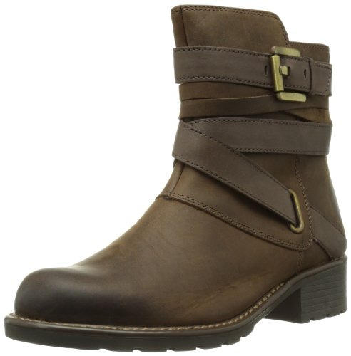 Clarks  Orinoco Sash,  Stivali da motociclista donna, Marrone (Braun (Brown Leather)), 37.5