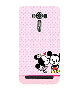 Vizagbeats mickies in love Back Case Cover for Asus Zenfone 2 Laser ZE550KL::Asus Zenfone 2 Laser ZE550KL (5.5 Inches)