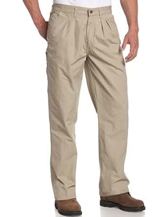 Wrangler Rugged Wear Men's Angler Relaxed Fit Pant,Khaki,30x32