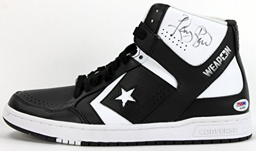 Black And Green Larry Bird Converse Shoes