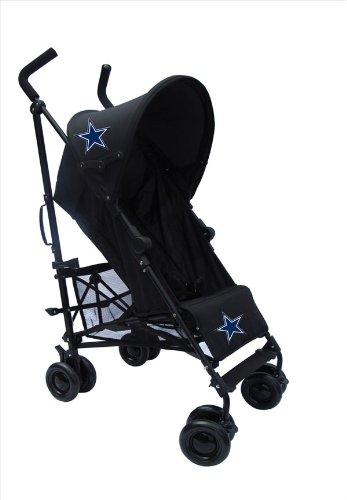 Dallas Cowboys Black Umbrella Stroller front-562808