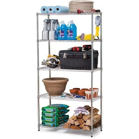 work-choice-5-tier-commercial-wire-shelving-rack-zinc