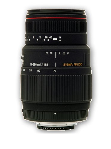 Sigma 70-300mm f4-5.6 APO Macro DG Lens For Pentax Digital  &  Film SLR Cameras