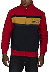 US POLO ASSOCIATION Men's Polyester Sweater (USSS0195_Multi-Coloured_Small)