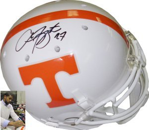 Arian Foster signed Tennessee Volunteers Authentic Schutt Helmet by Athlon+Sports+Collectibles