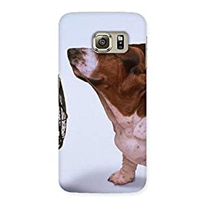 Funny Cute Dog Back Case Cover for Samsung Galaxy S6 Edge Plus