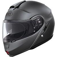 Shoei Solid Neotec Modular Motorcycle Helmet - Matte Deep Grey / Large from Shoei