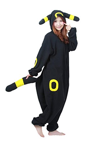 Engerla Animal Costumes Adult Cosplay Lounge Wear Holloween Pajamas Pokemon Umbreon
