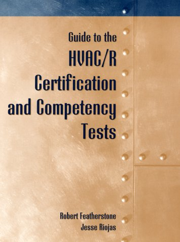 Guide to HVAC/R Certification and Competency Tests (Hvac Quick Reference compare prices)