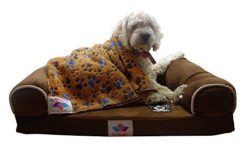 LatitudeC-Premium-Memory-Foam-Dog-Bed-With-Free-Pet-Blanket