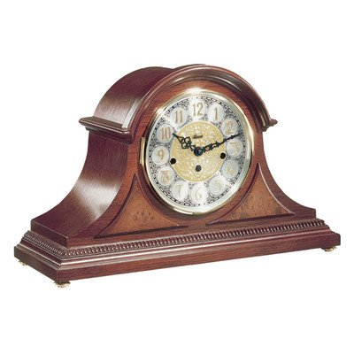Tambour Clock in Cherry
