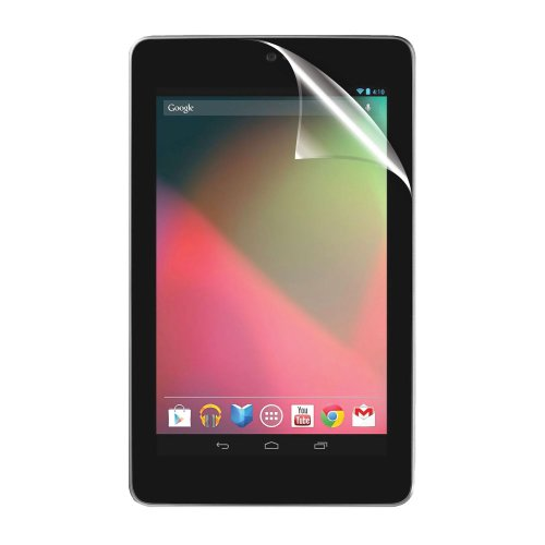 C.Skins© 6-Pack Premium Clear Screen Protector For Asus Google Nexus 7 Tablet Invisible Lcd Guard Cover