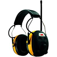 3M Tekk WorkTunes Hearing Protector with MP3 Compatible & AM/FM Tuner