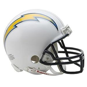 NFL San Diego Chargers Replica Mini Football Helmet by Riddell