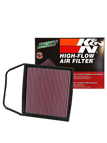 K&N 33-2367 High Performance Replacement Air Filter