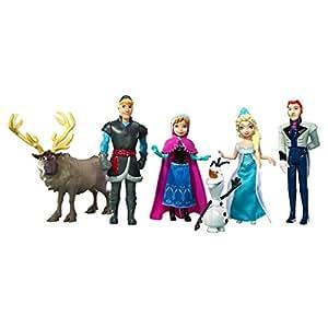 Disney Frozen Figurine Story Set