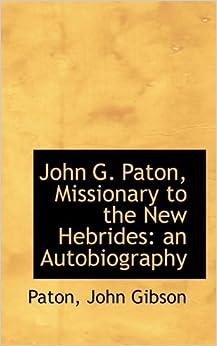 john g paton autobiography pdf