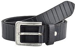 Midas Men's Belt (CLB548_32 , Black)