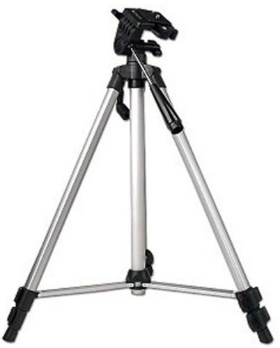 "Kinamax GN-BGTR Professional 40"" Camera Tripod Lightweight Aluminum with Retractable legs and Bubble Level (Silver)"