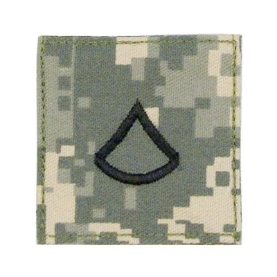 ACU Digital Camouflage Private 1st Class Insignia