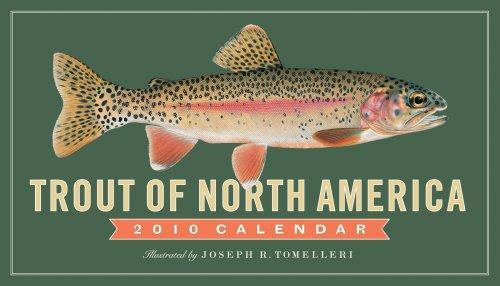 Trout of North America Calendar 2010