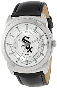 Game Time Mens MLB-VIN-CWS Vintage MLB Series Chicago White Sox 3-Hand Analog Watch by Game Time
