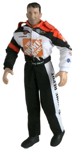 Buy Low Price Jakks Pacific NASCAR Tony Stewart 12″ Action Figure Doll (B0000A92LF)