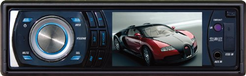 Absolute Dmr-390 3.3 Inches Panel/Single Din High Definition Tft/Lcd Receiver With Touch Screen Key Surface