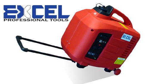 excel 2800w digital power generator compact portable remote start
