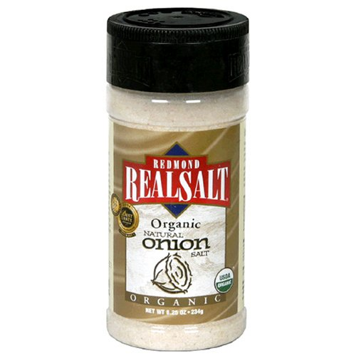 Organic Onion Salt By Redmond Trading - 8.25Oz.