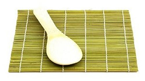M.V. Trading 900208 Bamboo Sushi Mat with Paddle Kit