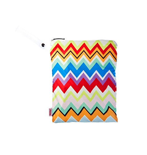 NUBY Washable Wet Bag, Multi Chevron - 1