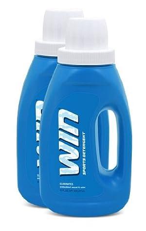 Win Detergent Laundry Detergent, Blue, 21 oz.
