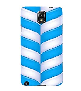 PrintVisa Candy Stick Design 3D Hard Polycarbonate Designer Back Case Cover for Samsung Galaxy Note 3