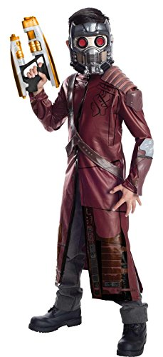 Rubie's Guardians of The Galaxy Deluxe Star-Lord Costume, Child Large