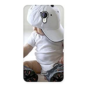 Enticing Hip Hop Cute Boy Back Case Cover for Micromax Unite 2 A106