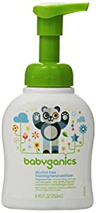 Babyganics Alcohol-free Foaming Hand Sanitizer Bundle - 2 Items: Fragrance Free 8.45 Oz Bottles
