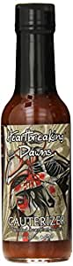Heartbreaking Dawns Cauterizer Trinidad Scorpion Sauce Bottle, 5 Ounce