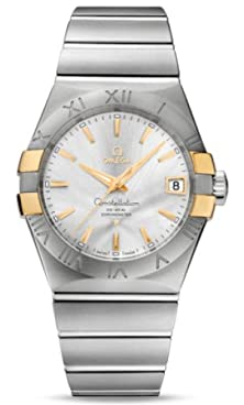 buy Omega Constellation Co-Axial Automatic Stainless Steel And Yellow Gold Mens Watch 123.20.38.21.02.005
